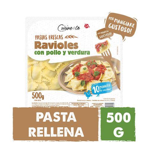 Ravioles Pollo Y Verdura C&co X 500 Gr