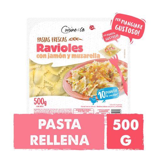 Ravioles Jamon Y Queso Cuisine&co X 500 Gr