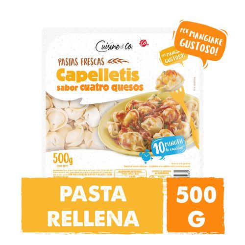 Capellettis4 Quesos Cuisine&co X500 Gr