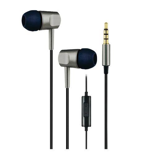 Auricular Nex In Ear Con Microfono Silver Plata Adie0720