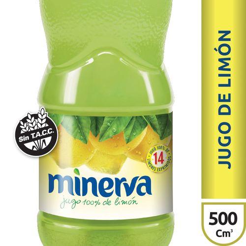 Jugo De Limón Minerva X500 Ml