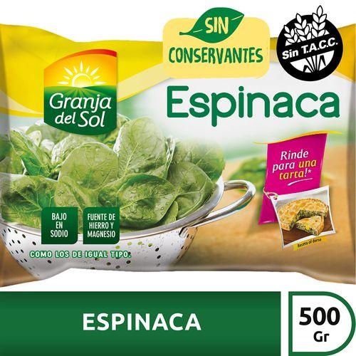 Espinaca Granja Del Sol X500 Gr