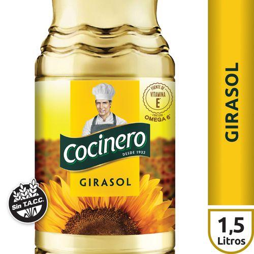 Aceite De Girasol Cocinero 1.5 L