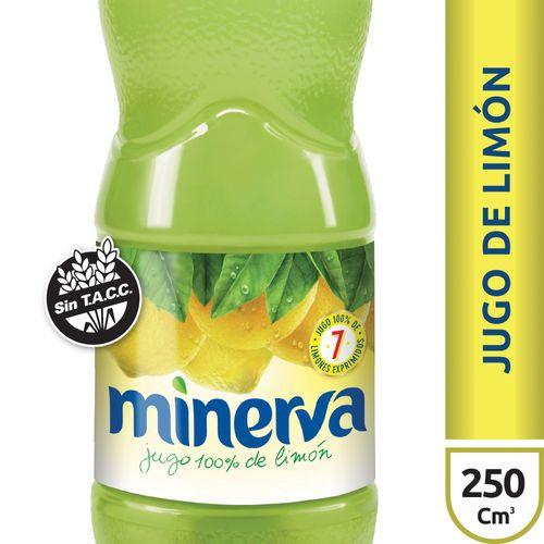 Jugo De Limón Minerva X250 Ml