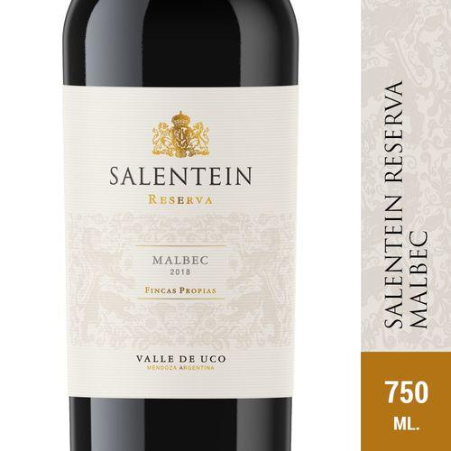 Vino Tinto Malbec Salentein 750 Ml
