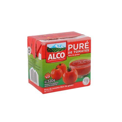 Puré De Tomate Alco 520 Gr