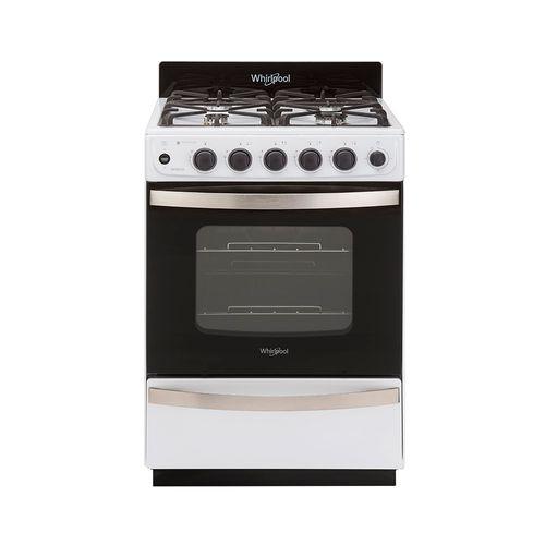 Cocina Multigas Whirlpool Wfb57di Blanca 56 Cm