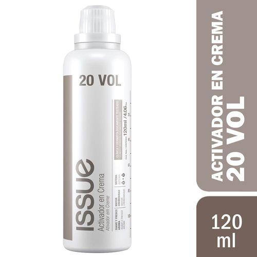 Agua Oxigenada Issue Crema Volumen 20 120 Ml