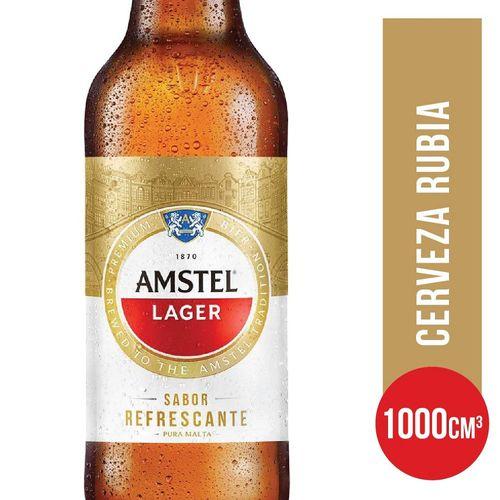 Cerveza Amstel Lager Ret 1lt