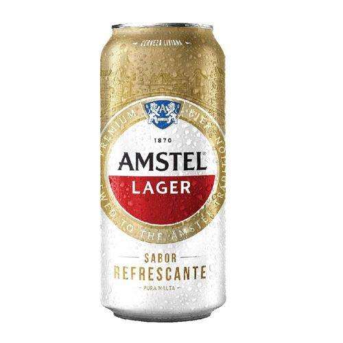 Cerveza Amstel Lager 473cc