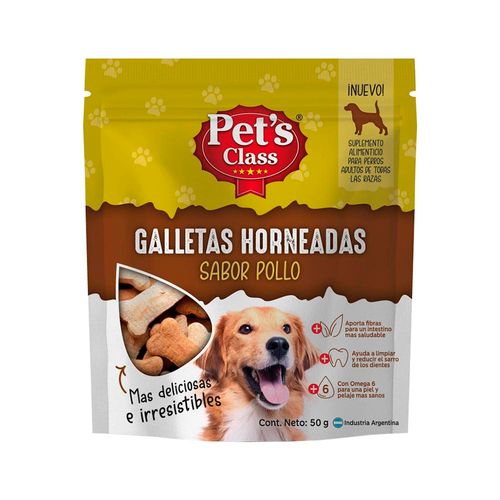 Galletitas Pet's Class Pollo 50gr