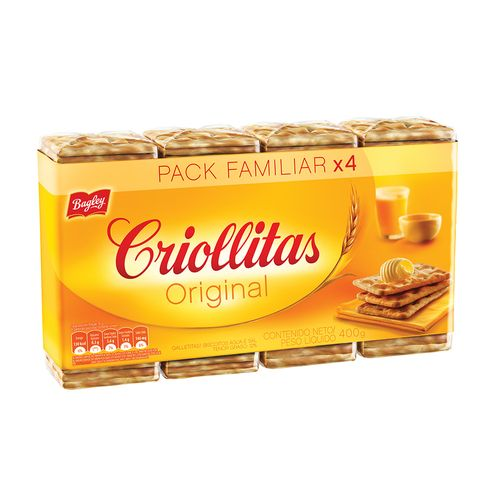 Galletitas Criollitas X400g