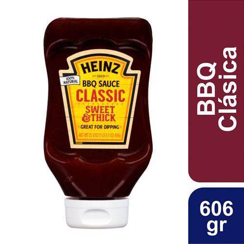 Salsa Bbq Heinz Classic Sweet & Thick 606gr