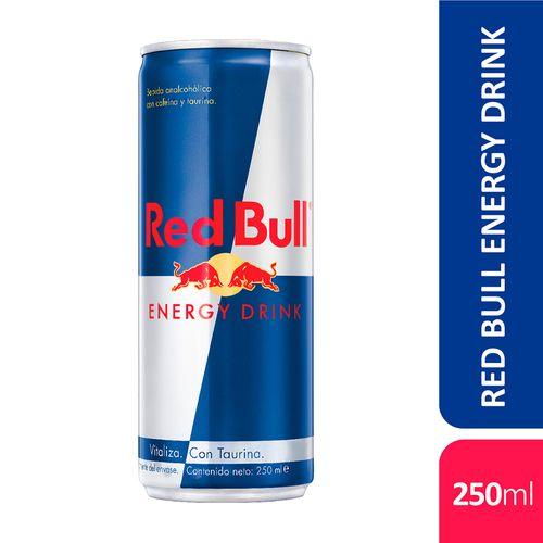 Energizante Red Bull 250 Ml Lata