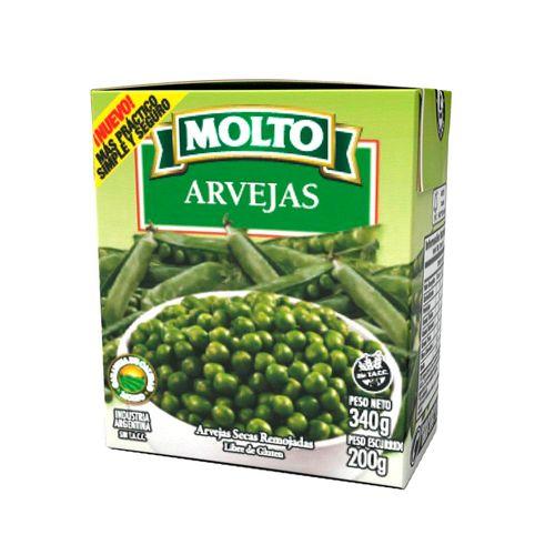 Arvejas Secas Remojadas Molto-brk-gr.-200