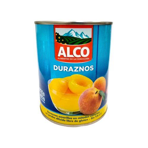 Duraznos Alco Al Natural 850 G