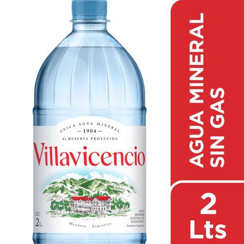 Agua Villavicencio Pet Sin Gas 2 L