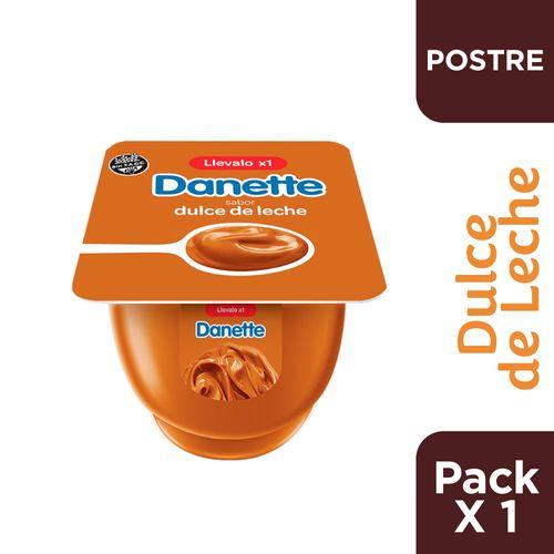 Postre Danette Dulce De Leche 95 Gr