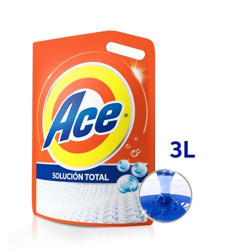 Jabón Líquido Para Ropa Ace Solución Total 3 L