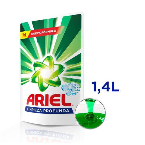 Jabón Líquido Ropa Ariel Limpieza Profunda 1,4 L
