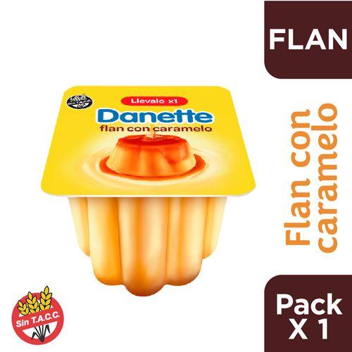 Flan Danette De Vainilla Con Caramelo 95 Gr
