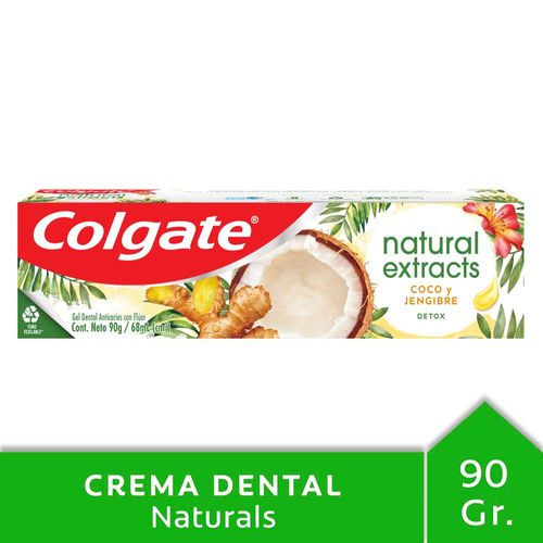 Crema Dental Colgate Natural Extracts Detox 90 Gr