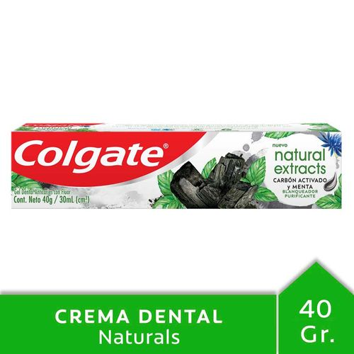 Crema Dental Colgate Natural Extracts Purificante 40 Gr