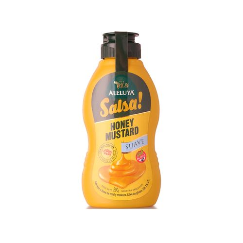 Honey Mustard Suave Aleluya 200gr
