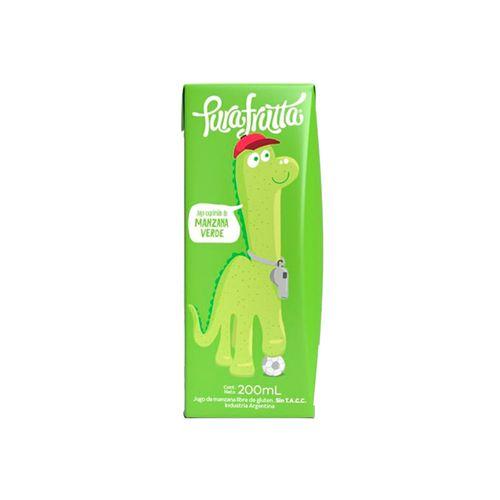 Jugo Exprimido Pura Frutta - Manzana Verde 200 Ml