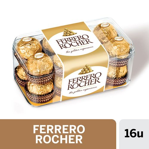 Bombones Ferrero Rocher 16 U