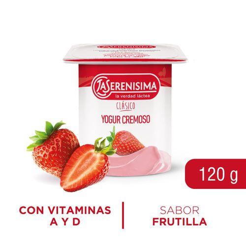 Yogur Ls Clásico Batido Entero120gr Frut