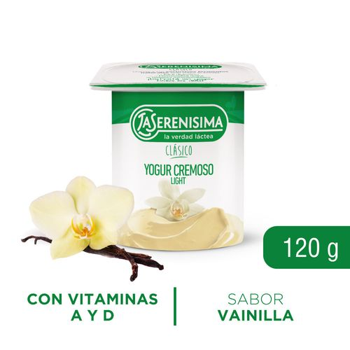 Yogur Ls Clásico Batido Descr 120 Gr Vai