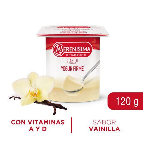 Yogur Ls Clásico Firme Entero 120 Gr Vai