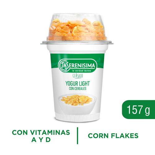 Yogur Descremado Con Cereales La Serenisima 157 Gr