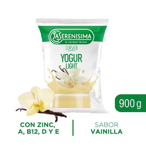 Yogur Bebible Descremado La Serenisima Vainilla 900 Gr