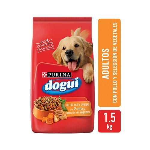 Alimento Dogui Pollo Grillado Cveg 1,5k