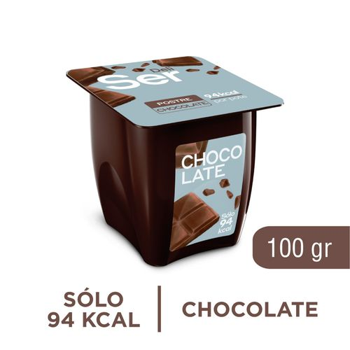 Postre Ser Chocolate 100 Gr
