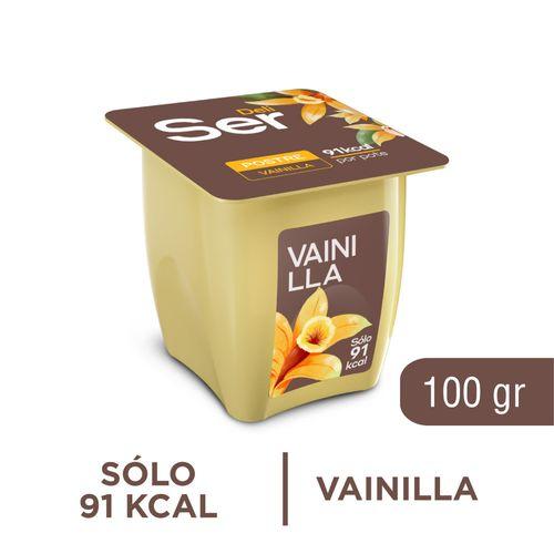 Postre Ser Vainilla 100 Gr