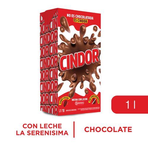 Leche Chocolatada Cindor Tetra 1 L.