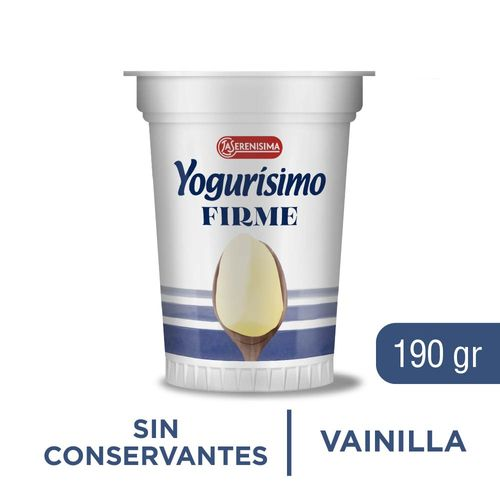 Yogurisimo Firme Preform Fort 190gr Vai