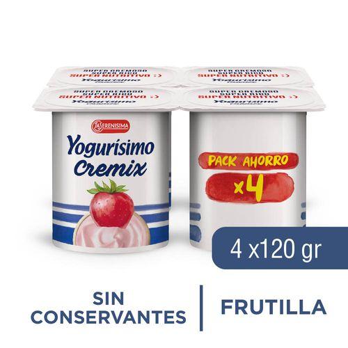 Yogurisimo Cremix Pack 480 Gr Fru