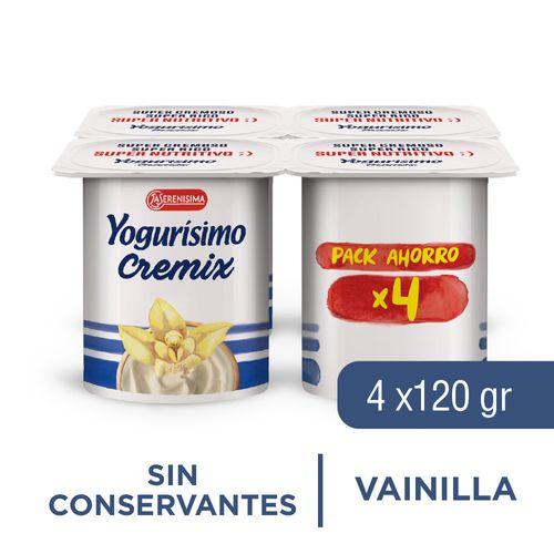 Yogurisimo Cremix Pack 480 Gr Vai