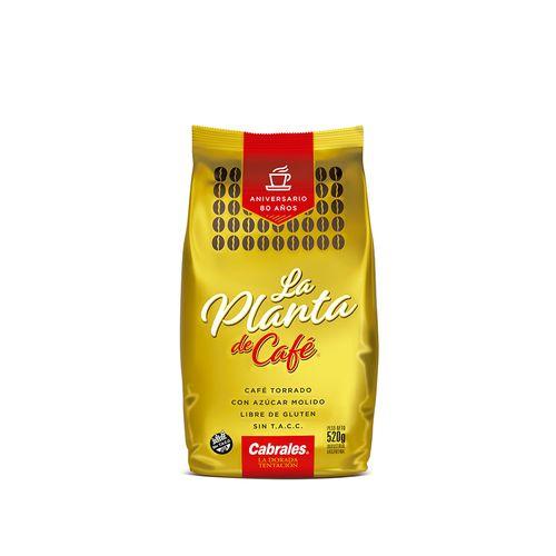 Café La Planta De Cafe Molido  520g