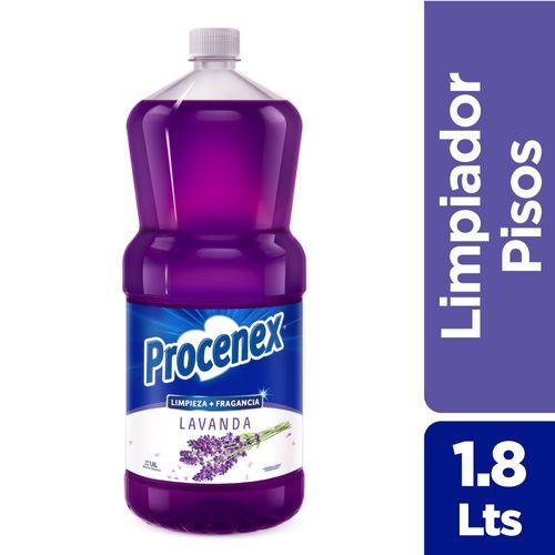 Limpiador Líquido Procenex Extra Fragancia Lavanda 1,8 L