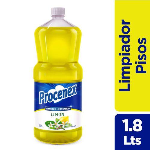 Limpiador Líquido Procenex Extra Fragancia Limón 1,8 L