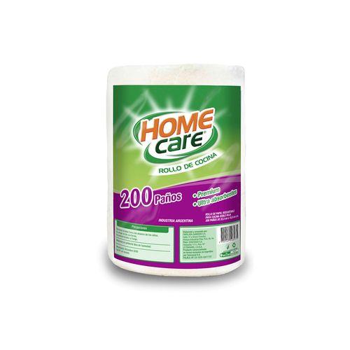 Rollo Cocina Home Care Mp 200 Paños