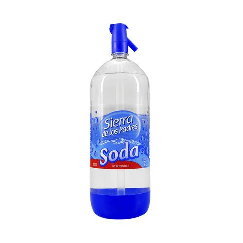 Soda Sierra De Los Padres 1,75lt =,25lt