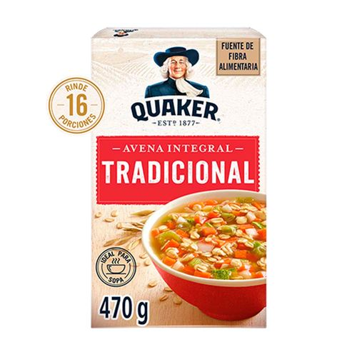 Avena Quaker Tradicional 470g