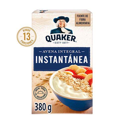 Avena Quaker Instantanea 380g