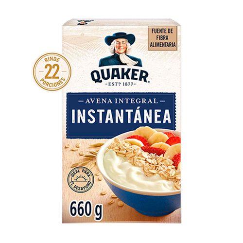 Avena Quaker Instantanea 660g